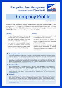 best photos of company profile sample format sample With company portfolio template doc