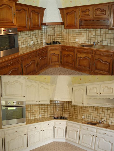 d馮raisser meubles cuisine bois vernis bien peinture pour meuble bois vernis 7 relooking