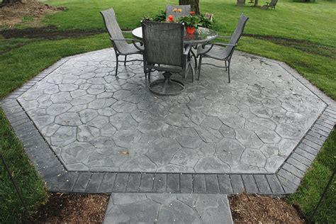 decorative concrete finishes schupbach concrete