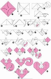 Origami Fleur Coeur D étoile : origami de c ur avec une grue symbole de paix ~ Melissatoandfro.com Idées de Décoration