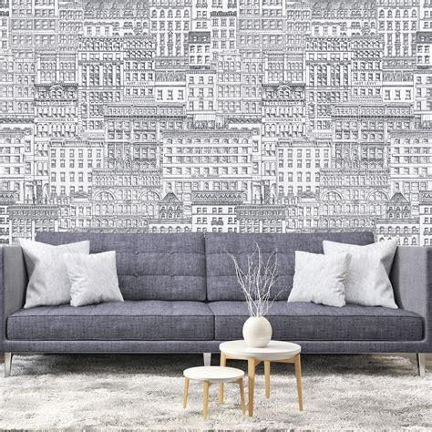 tapis de cuisine originaux papier peint panoramique 143178 broadway noir et blanc