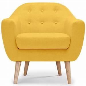 Fauteuil Scandinave Jaune : fauteuil scandinave jaune kindy ~ Melissatoandfro.com Idées de Décoration