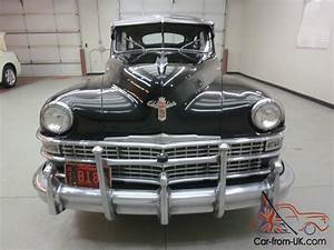 Rare    1948 Chrysler  U0026quot Windsor U0026quot  Limo 8 Passenger Sedan