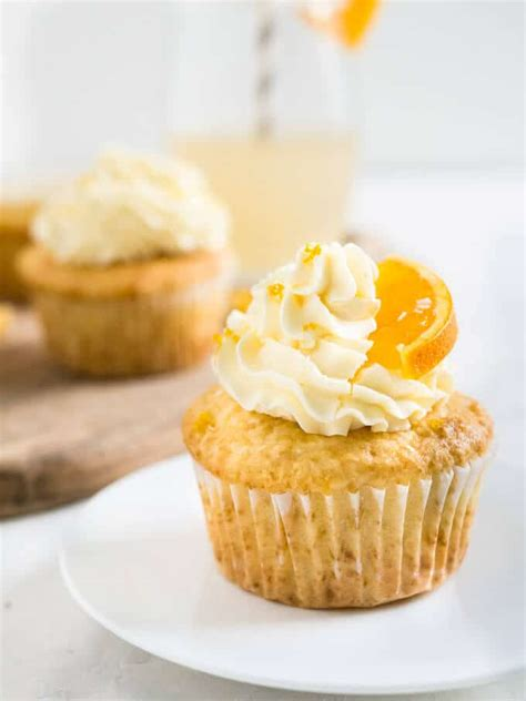 orange creamsicle cupcakes with coconut
