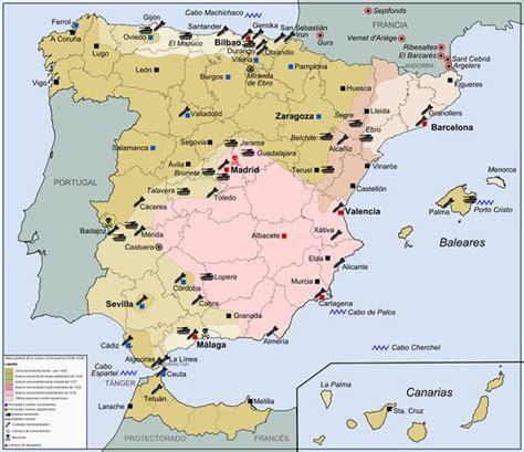 Spānijas pilsoņu karš - Vēsture