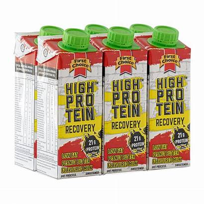 Protein Milk Recovery Butter Peanut Pack 250ml