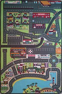 diy tapis de jeux circuit voiture tapis voitures