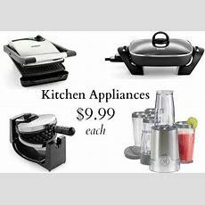 Cheap Kitchen Appliances  Skillet, Blender, Panini Grill