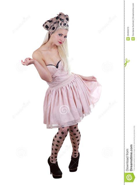 Beautiful Pin up Girl Stock Photo Image: 29465670