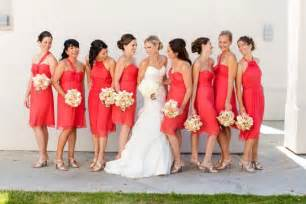 robe corail mariage bridesmaid bridesmaids 1514440 weddbook