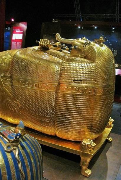 Coffin Tutankhamun King Gold Domain Publicdomainpictures
