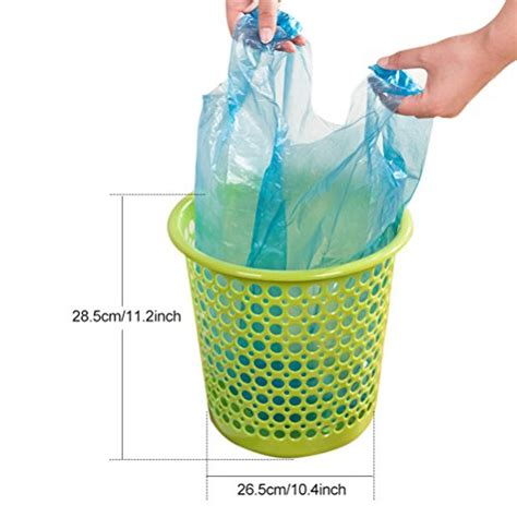 Aosbos Handletie Small Trash Bags For Bathroom And