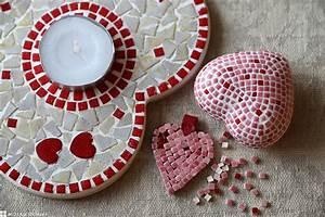 Mosaik Basteln Ideen : mit echtem mosaik kreative ideen selber machen ~ Lizthompson.info Haus und Dekorationen