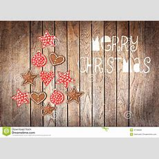Merry Christmas Tree Made With Wooden Rustic Ornaments On Backgrounds Wallpapers Halloween