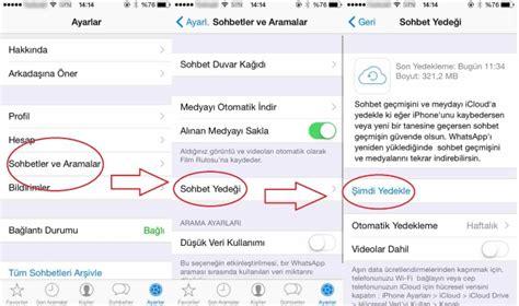 Ios Sistemde Silinen Whatsapp Mesajlarının Geri Yüklenmesi