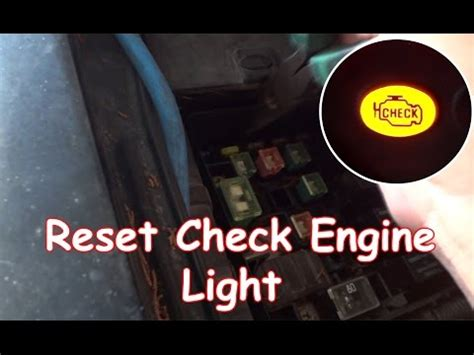 2007 honda accord check engine light diy reset check engine light without obdii reader