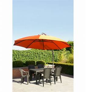 Toile Pour Parasol Déporté : toile de remplacement terracotta en polyester pour parasol easy sun 375 ~ Teatrodelosmanantiales.com Idées de Décoration