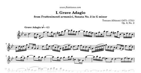 Grave Adagio From Trattenimenti Armonici, Sonata No. 2 In