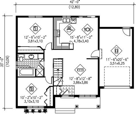 Small, Traditional, Colonial House Plans   Home Design PI