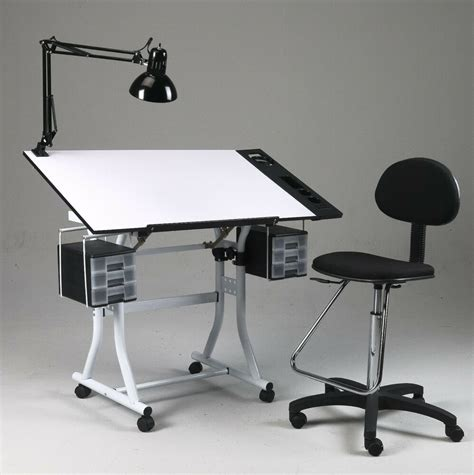 drawing art hobby craft table desk  drawers