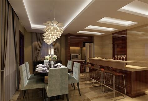 50 Stylish And Elegant Dining Room Ceiling Design Ideas In