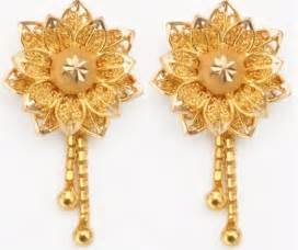 silver earring gold and platinum jewellery designs and collections