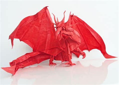 Interessante Ideentribal Drache by Origami Tiere 63 Sehr Tolle Modelle Archzine Net