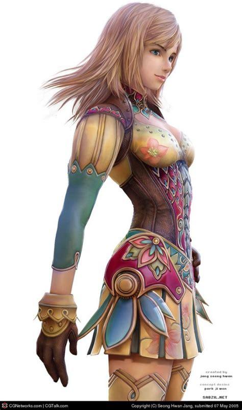beautiful  stunning  character designs