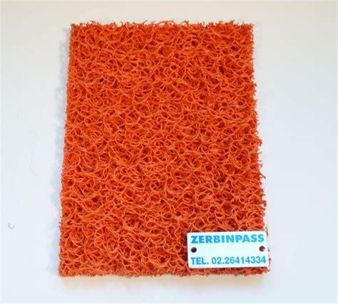 zerbini 3m tappeto ricciolo vinilico articolo 1708 colore arancione