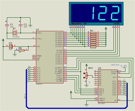 Interfacing Adc Chip With Microcontroller