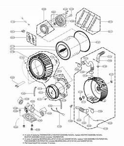 Lg Wm9500hka Washer Parts