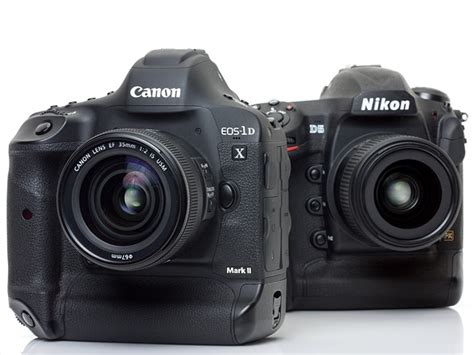 flagships compared canon eos 1d x ii versus nikon