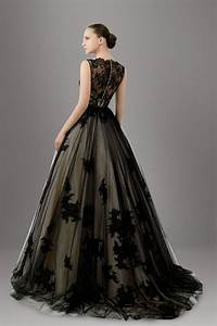 stunning lace overlay tulle a line black wedding dress With black dress for a wedding