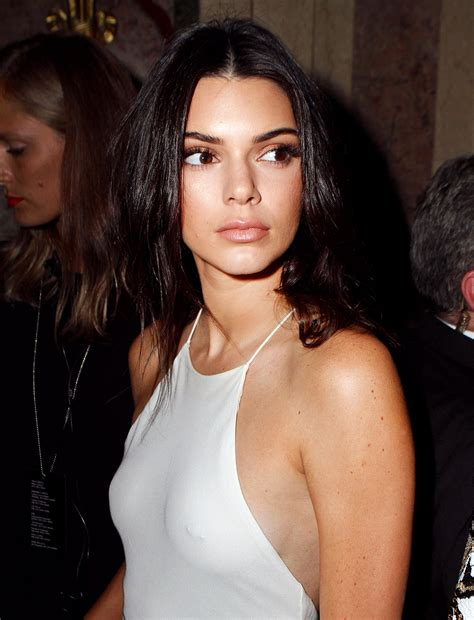 Is Kendall Jenner Flashing A Nipple Piercing Through Her