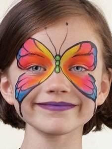 Maquillage Simple Enfant : artiste nick wolfe maquillage animations enfants pinte ~ Melissatoandfro.com Idées de Décoration