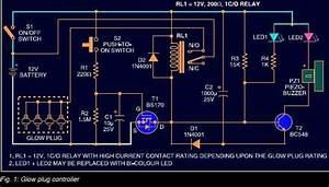 Glow Plug Timer Circuit