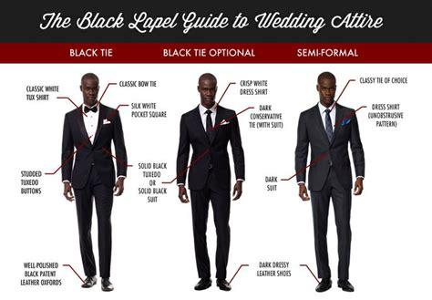 Guide To Wedding Attire  Men #charm Wwwcharmetiquette