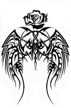 anchor-blue-wings-mom-dad-purple-banner-halo stencil | Tattoos For Life | Pinterest | Cross
