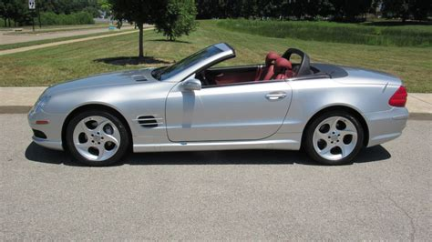 convertible mercedes 2004 2004 mercedes benz sl500 convertible one owner with 17 000