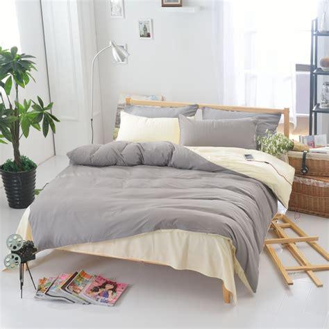 modern comforter sets 3pcs solid color duvet cover set pillowcase comforter