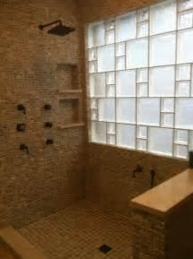 glass block bathroom ideas glass blocks for beautiful bathroom windows houston glass block