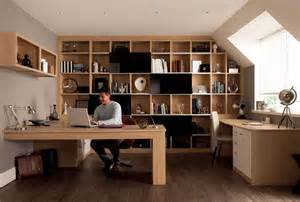 modern home interiors como oak fitted home office furniture by sharps