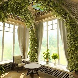 Cheap ideas for eco friendly interior decorating with for Interior decorating houseplants