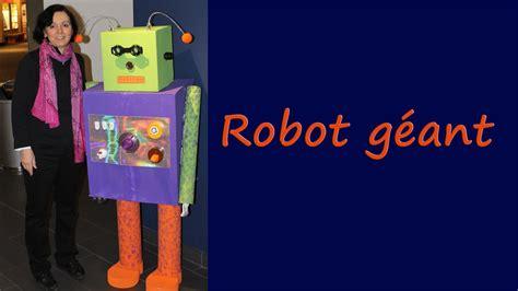 comment faire un robot g 233 ant