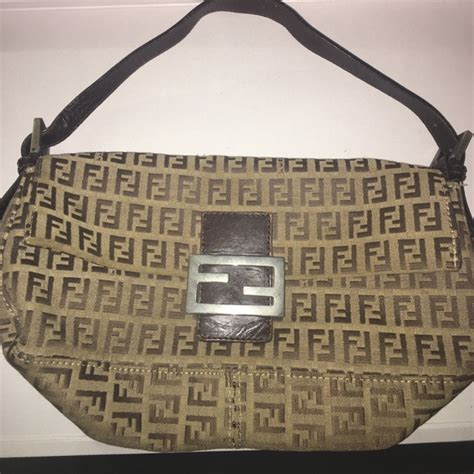 fendi authentic monogram fendi bag  serial number
