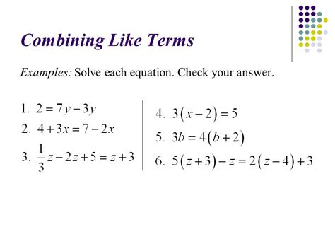 91  Solving Equations  Ppt Video Online Download