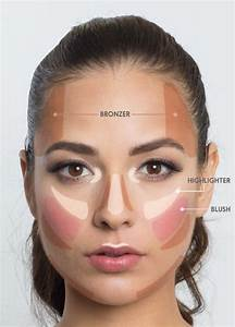 Makeup Cheat Sheet This Lifesaver Face Map Helps You To