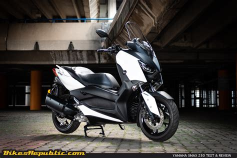 Xmax Image by 2018 Yamaha Xmax 250 Test Review Bikesrepublic