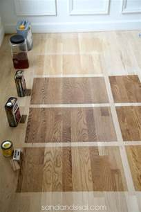 Pickled Oak Cabinets Refinish by Choosing Hardwood Floor Stains
