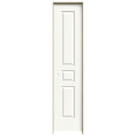 interior doors home depot jeld wen 18 in x 80 in avalon white painted right